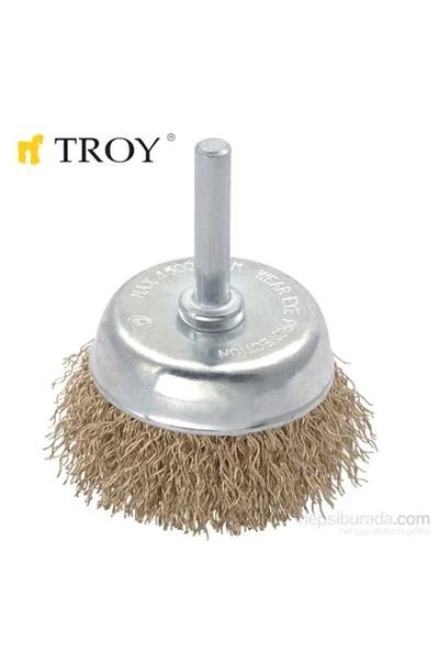 Troy 27702-50 Pimli Çanak Fırça (50Mm)