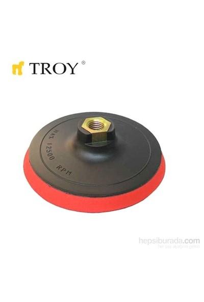 Troy 27911 Disk Altı 125Mm, (Cırt Zımpara İçin)