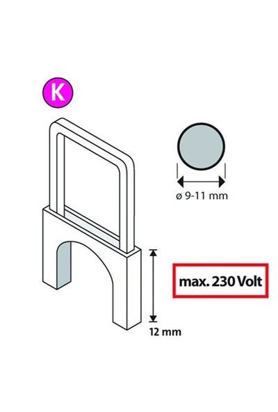 Novus K/12 Tip İzoleli Kablo Zımba Teli 350 Li Paket