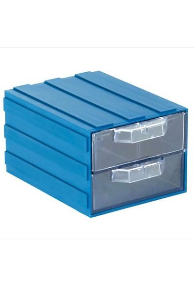 Sembol 202-2 Plastik Çekmeceli Kutu