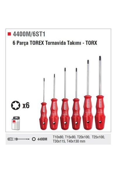 Ceta Form 4400M/6St1 6 Parça Torex Tornavida Takımı - Torx