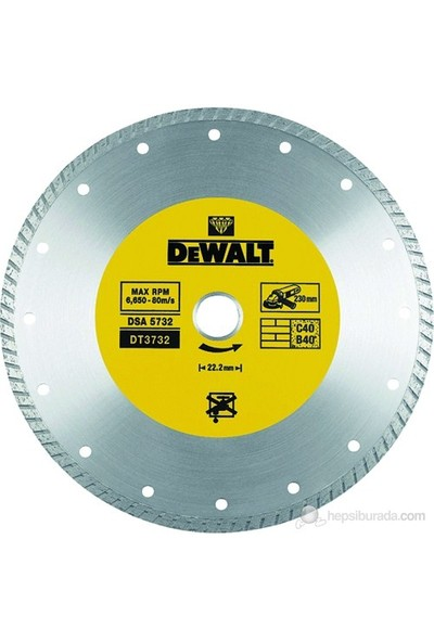 Dewalt Dt3722 Turbo Elmas Disk