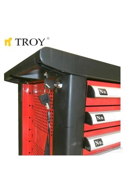 Troy 26103 Profesyonel Takım Arabası (314 Parça El Aleti Dahil)