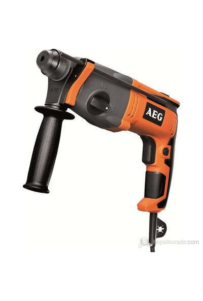 AEG KH24 E Sds Plus Pneomatık Kırıcı Delıcı + Ryobi Taşlama + Attlas Uç Seti