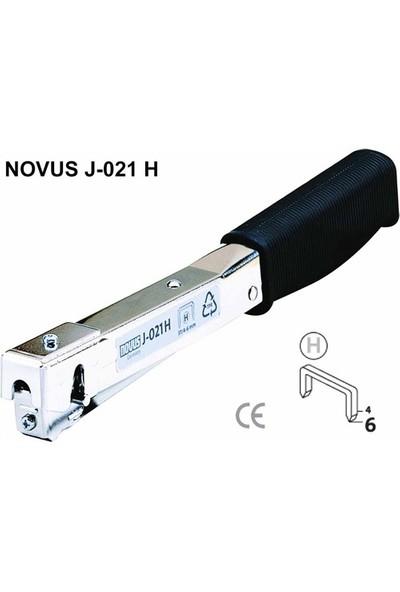Novus J-021H Mekanik Çekiç Tipi Zımba Makinası