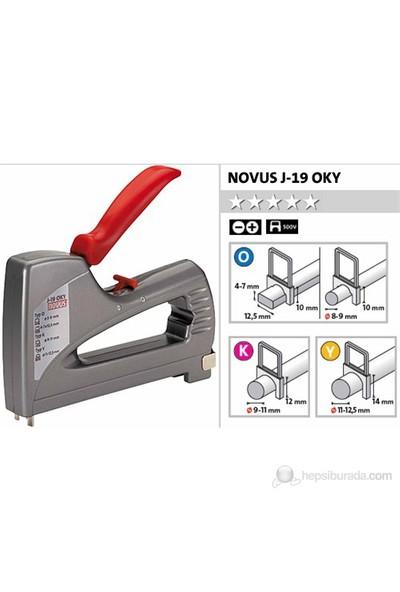 Novus J-19 Oky Mekanik Kablo Zımba Makinası