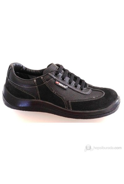Mekap Klasik İş Güvenlik Ayakkabısı 40 Numara (Çelik Burunsuz)