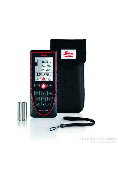 LEICA Disto D410 Dış Saha Kameralı Lazer Metre ( 150 Metre, IP65 Ekstra Koruma )