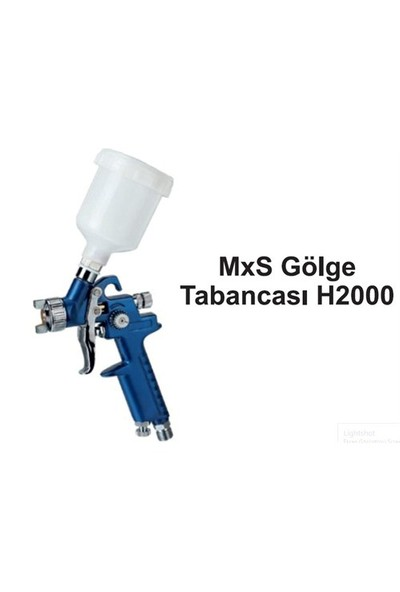 Mxs H2000 Gölge Tabancası 0,8 Mm Meme 091615