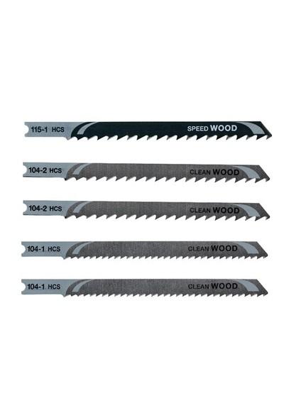 Piranha X28105 U Tipi Dekupaj Testere Bıçak Seti (Ahşap)