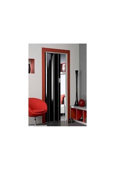High Glass Akordeon Kapı Siyah