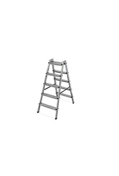 Çift Çıkışlı Merdiven Profil 5+5 Basamak