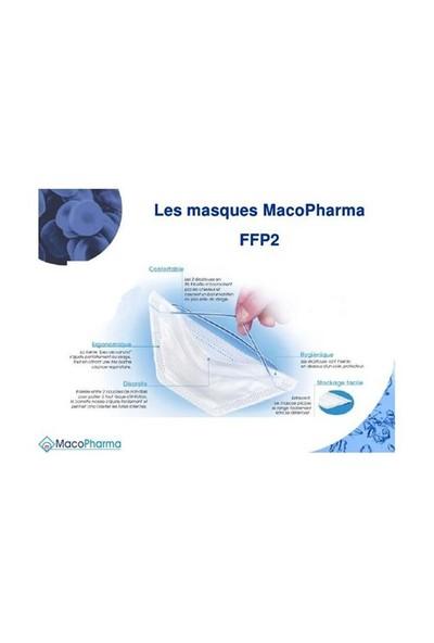 Macopharma Ffp2 Toz Maskesi 50 Adet
