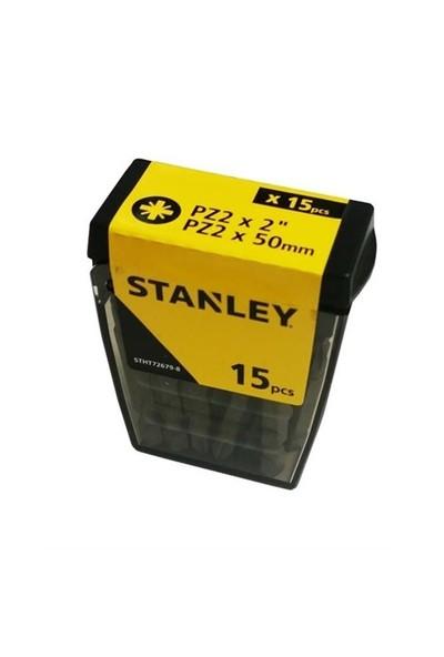 Stanley Stht726798l 15 Adet Pz2 Vidalama Uç Seti