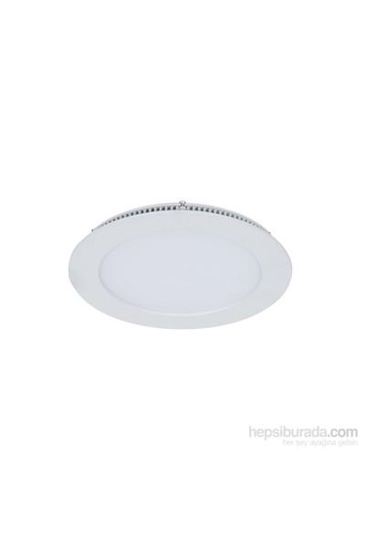Armatür Lamptıme Panel Led Downlıght İnce 12W 6500K Beyaz 260623 (130-145)