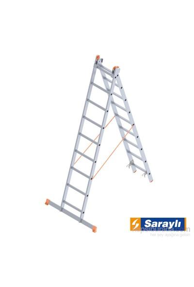 Saraylı Endüstriyel Merdiven 2X9 A Tipi 4 Metre