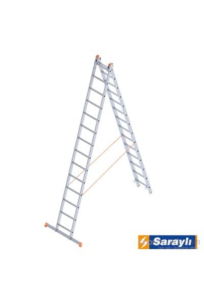 Saraylı Endüstriyel Merdiven 2X14 A Tipi 6,8 Metre
