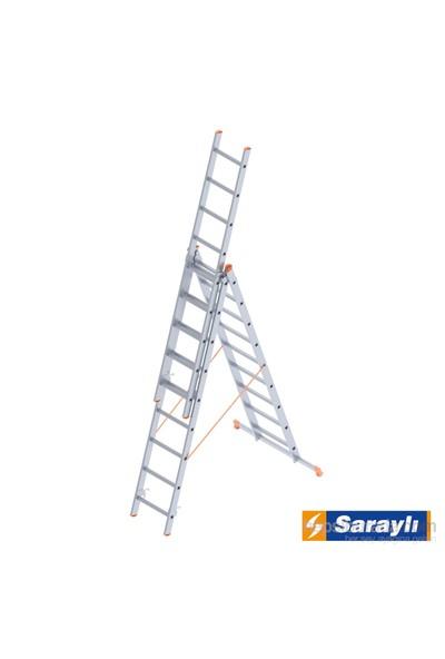 Saraylı Endüstriyel Merdiven 3X9 A Tipi 5,7 Metre