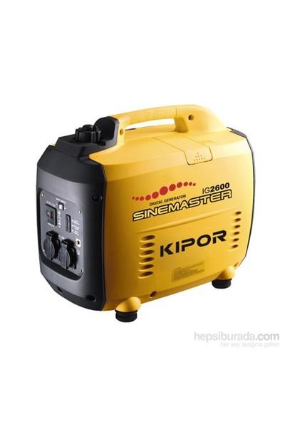 Kipor Ig2600 Dijital Benzinli Jeneratör