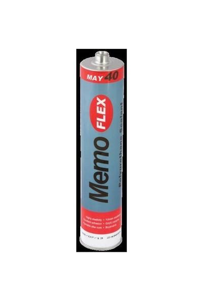 Memoflex May 40 P.U.Mastik Kartuş 290 Ml Siyah