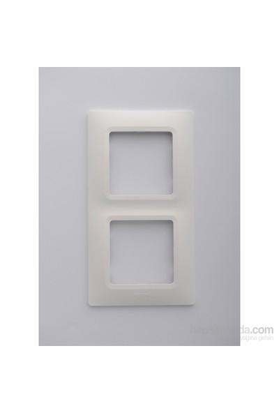 Legrand Salbei 2Li Çerçeve, Beyaz
