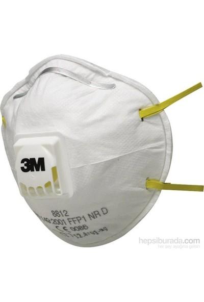 3M 8812 Ventilli Toz Maskesi FFP1 (10 Adet)