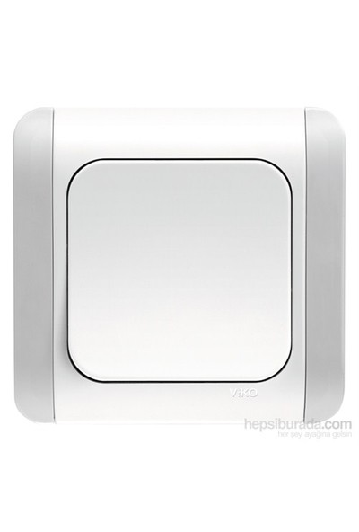 Viko Kardelen Beyaz Anahtar Kordonlu-Beyaz