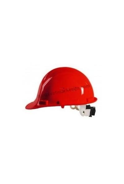 Essafe 1538V Enseden Ayar Mekanizmalı Ce'li Baret Kırmızı