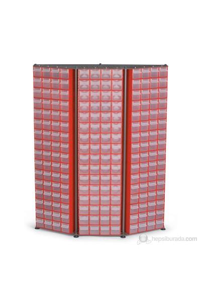 Port-Bag Duvar Dibi Modül Çd-13 Kırmızı