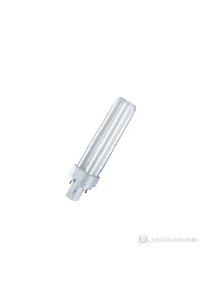 Osram Dulux D 18W Kırık Beyaz Işık Geçme Soketli Lamba - 2Pın - Dd.18/21-840