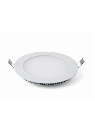 Lamptıme Armatür Lamptıme Panel Led Downlıght İnce 16W 4000K Ilık Beyaz 260424 (160-175)