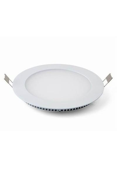 Lamptıme Armatür Lamptıme Panel Led Downlıght İnce 20W 4000K Ilık Beyaz 260433 (205-225)