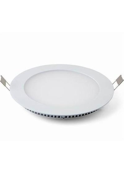 Lamptıme Armatür Lamptıme Panel Led Downlıght İnce 24W 4000K Ilık Beyaz 260426 (280-300)