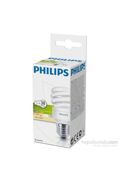 Philips EconomyTwister 8W Sarı Işık Normal Duy