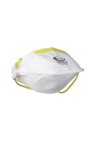 K1000 Katlanabilir Toz Maskesi Tekli ffp1