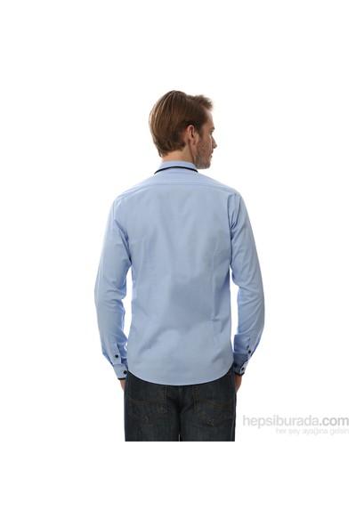 Score Mavi Erkek Gömlek