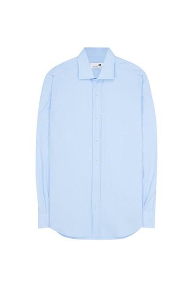 Pıerre Balmaın Klasik Mavi Gömlek