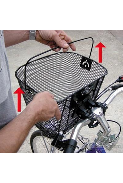 Lampa Bisiklet Ön Gidon Taşınabilir Alışveriş Sepeti 94532