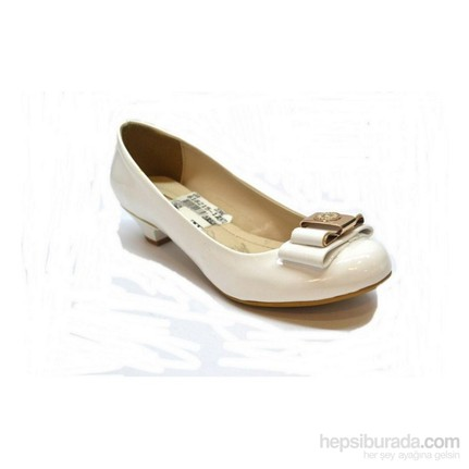 Punto 618215-12 Beyaz Kadın Topuklu Ayakkabı