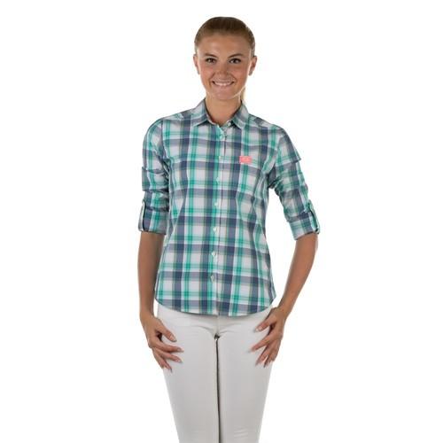 Colin's Yeşil Kadın Gömlek Uzun Kol