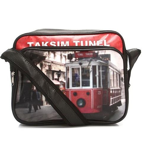 Köstebek Taksim-Tünel Nostaljik Tramvay Çanta