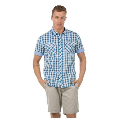 Colin's Mavi Erkek Gömlek Kısa Kol