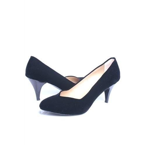 Loggalin 580110 031 008 Kadın Siyah Stiletto