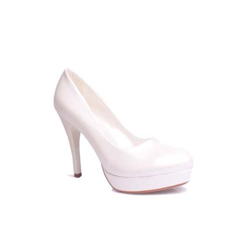 Loggalin 580501 031 313 Kadın Sedef Beyaz Platform Ayakkabı