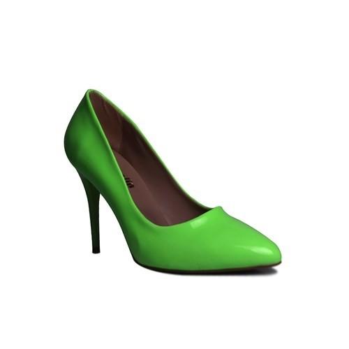 Loggalin 580115 031 676 Kadın Neon Yeşil Stiletto