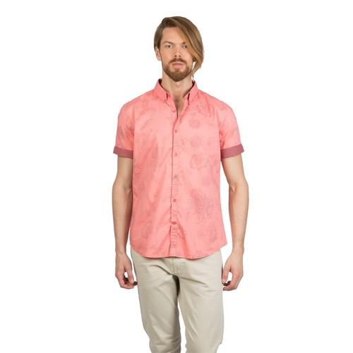 Colin's Mercan Erkek Gömlek Kısa Kol