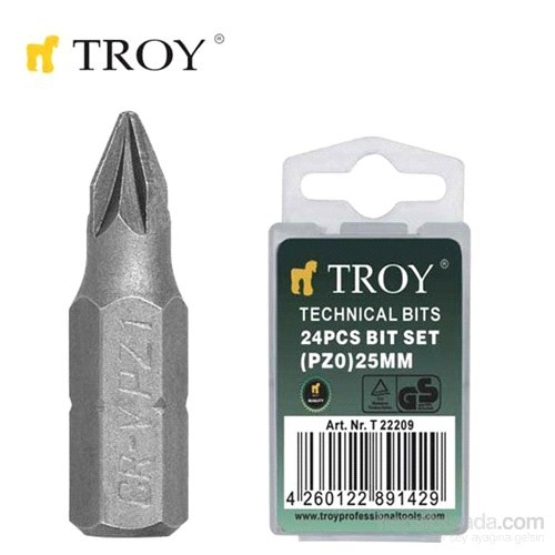 Troy 22210 Bits Uç (Pz1x25mm)