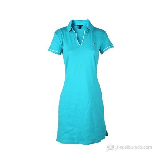 Tommy Hilfiger Kadın Elbise Yeşil