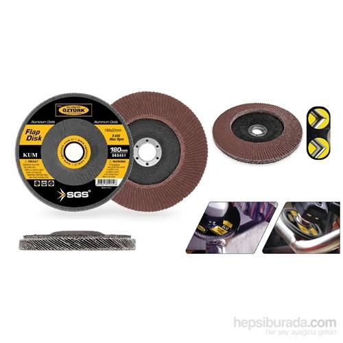 SGS 180 mm A80 Kum Flap Disk Zımpara 090879