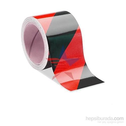 MasterCare Siyah/Kırmızı Güvenlik Fosfor Bant 10 Cm X 5 Mt 010021